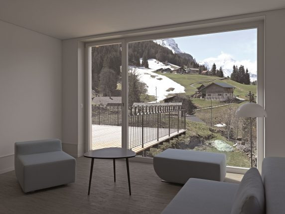 Wohnhaus Schlosseck Wengen
