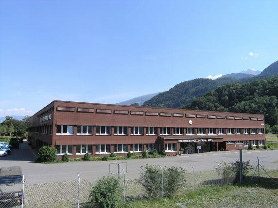 Rektrutierungszentrum Mels